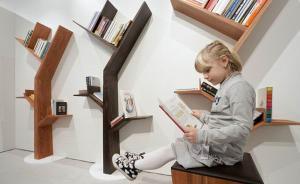 有了这些书架,孩子更喜欢在书房多待一会儿吧