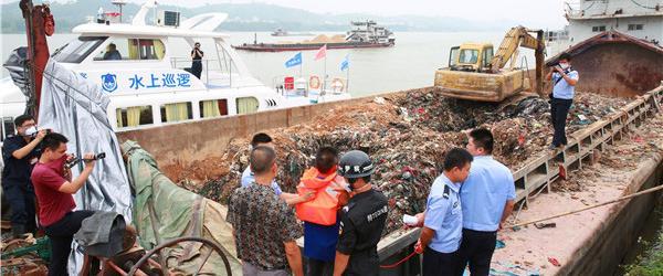 广西来宾查获数千吨广东跨省非法转移强腐蚀性危废,逮捕九人