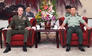 范长龙会见美军参联会主席:军事手段不能成解决半岛问题选项