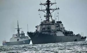 """俄媒:美舰撞船威胁航运,让人想起""""美航母要灯塔让路""""笑话"""