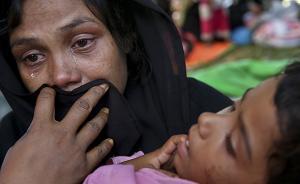 缅甸若开邦连发袭击事件,数千罗兴亚人试图入境孟加拉国遭拒