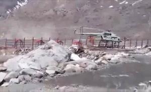 印度空军米-17直升机在喜马拉雅山区坠毁视频曝光