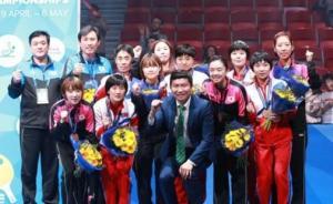 朝鲜乒乓名将将参加国际乒联韩国公开赛,朝韩拟再组女子联队