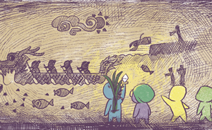 节气村的故事|一声巨响后,端午助村民抵御五毒王